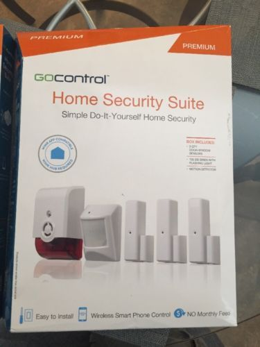 GOCONTROL HOME SECURITY SUITE PREMIUM. BRAND NEW IN BOX - http://electronics