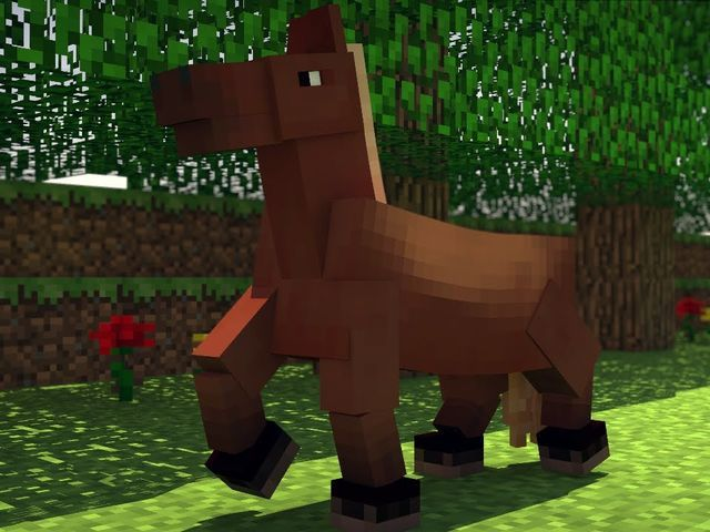 I got: Horse! Which Minecraft Animal Are You?