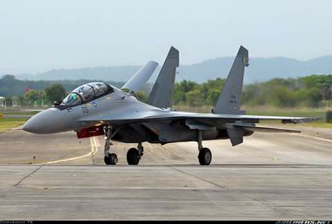 Sukhoi Su-30MKM of the Royal Malaysian Air Force (TUDM)