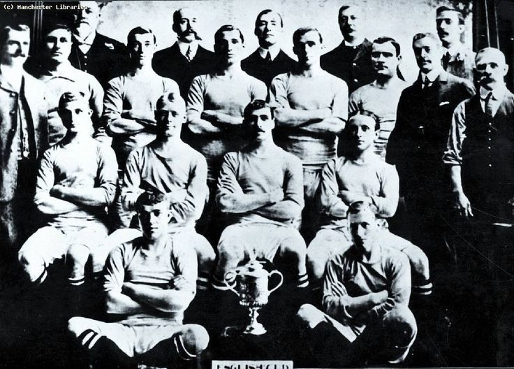 Manchester City FC - The 1903-04 FA Cup Winners beating Bolton Wanderers - City were the first team in Manchester to win a major football trophy