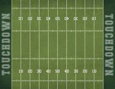Printable NFL Football Field
