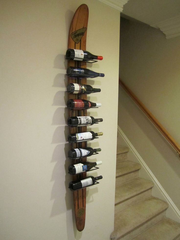 Recycle Ski Decor Ideas