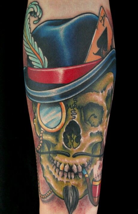 Awesome tattoo from clean rock one on ink master the for Clean rock one tattoos