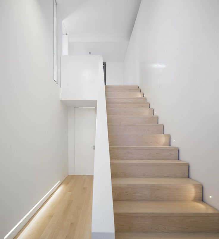 Unifamiliar House In Parede. - Parede 11 by humberto Conde #architecture #staircase