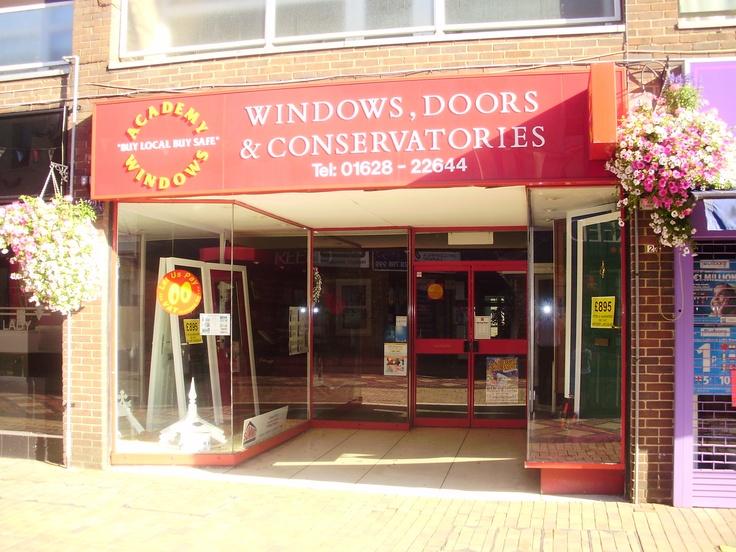 Academy Windows Maidenhead showroom. Double Glazing Windows, Doors, Conservatories, Kitchens, Bedrooms  http://www.academywindows.co.uk/?page=Maidenhead http://www.academywindows.co.uk/?page=Showrooms