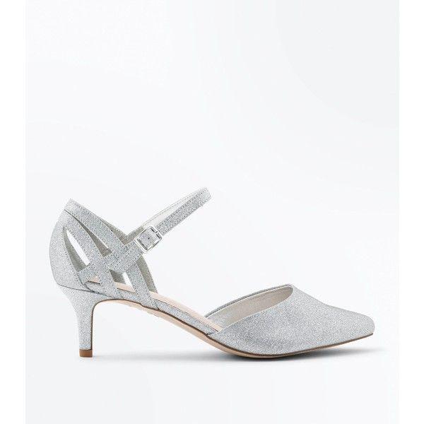 pumps, silver, ankle strap pumps