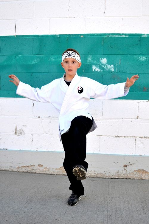 The Train To Crazy: Handmade Dress Up Series: DIY Karate Kid Headband (hachimaki) Tutorial
