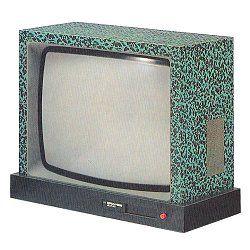 """ettore sottsass - TVC memphis I 23""""- Brionvega, 1980"""