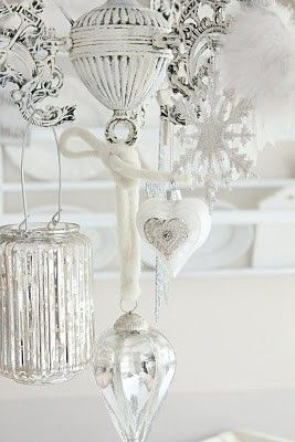 740 best images about christmas dreaming of a white christmas on pinterest stockings shabby chic christmas and christmas trees - White Christmas Decorations