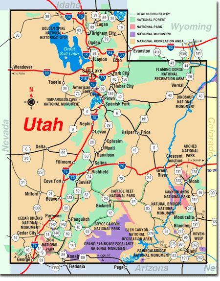 plain utah national parks