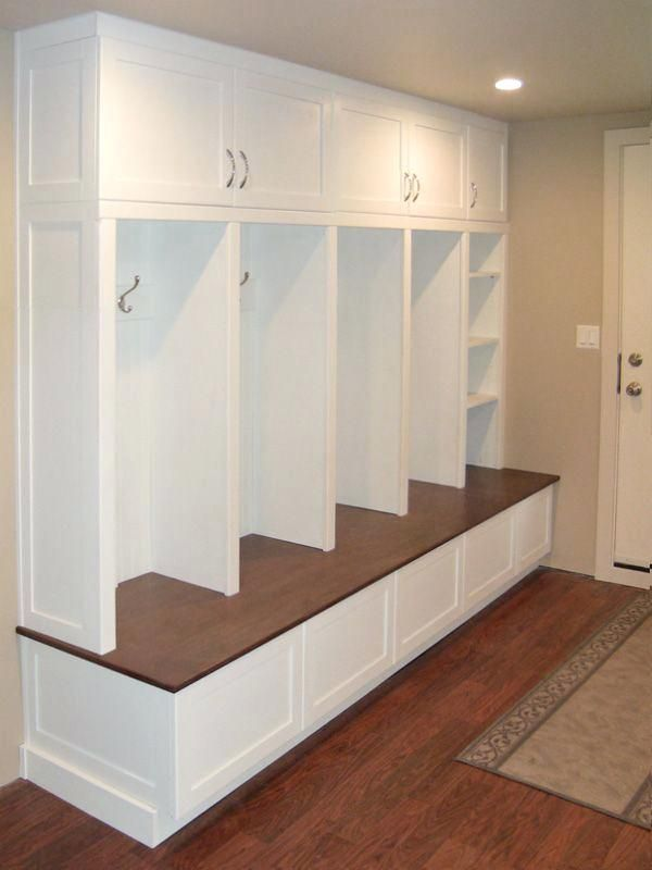 Build Mudroom Lockers Plans Free Storage