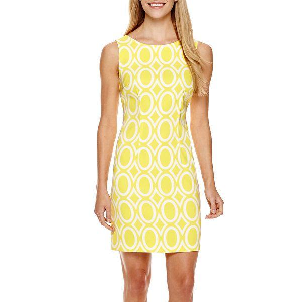 Alyx Cap-Sleeve Two-Tone Dress - Petite ($40) found on