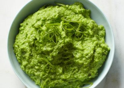 Wasabi Pea Dip Silken tofu gives this dip a velvety texture for 66% ...