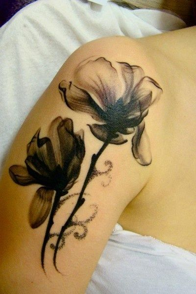 flowers #tattoos for women....