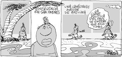 PALOSA - Caricatura Editorial: ISLAS EN RIESGO Publicado 10  de diciembre de 2012