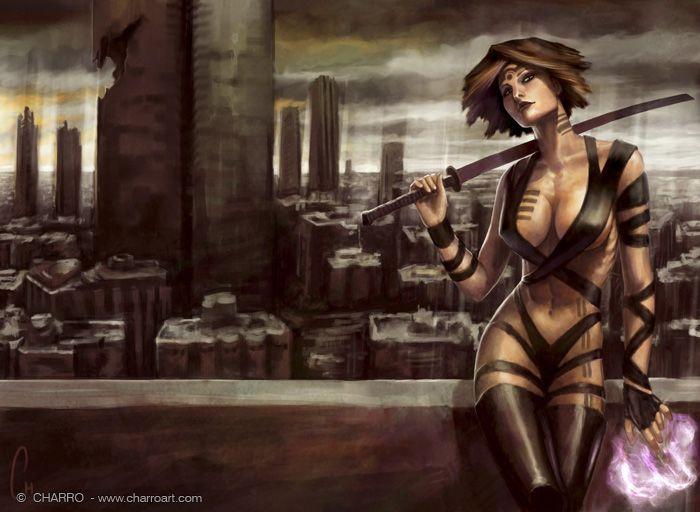 560 Best Images About Dangerous Women Illustrations On