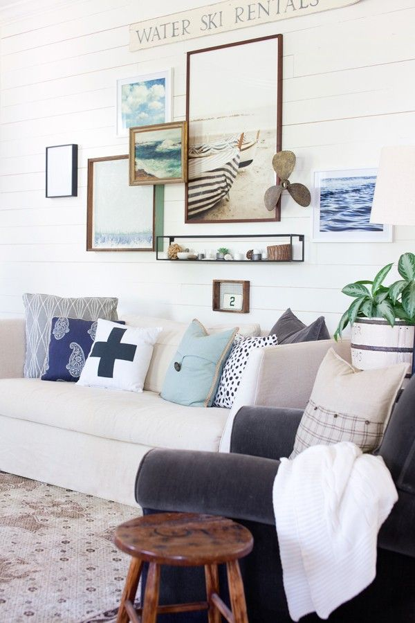 25 best ideas about nautical living rooms on pinterest coastal inspired printed art navy and. Black Bedroom Furniture Sets. Home Design Ideas
