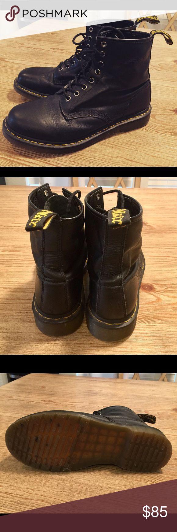 Dr Martens men boots. Black size 9. Dr martens men's boots. Black size 9. Nice condition. Dr. Martens Shoes Boots