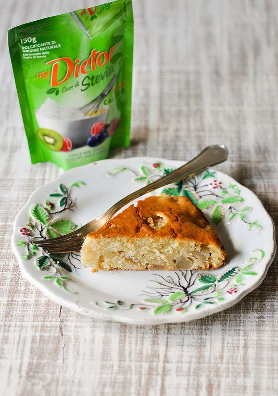 Una streghetta in cucina: Torta con rum, pere e Stevia per #ricettesenzapens...