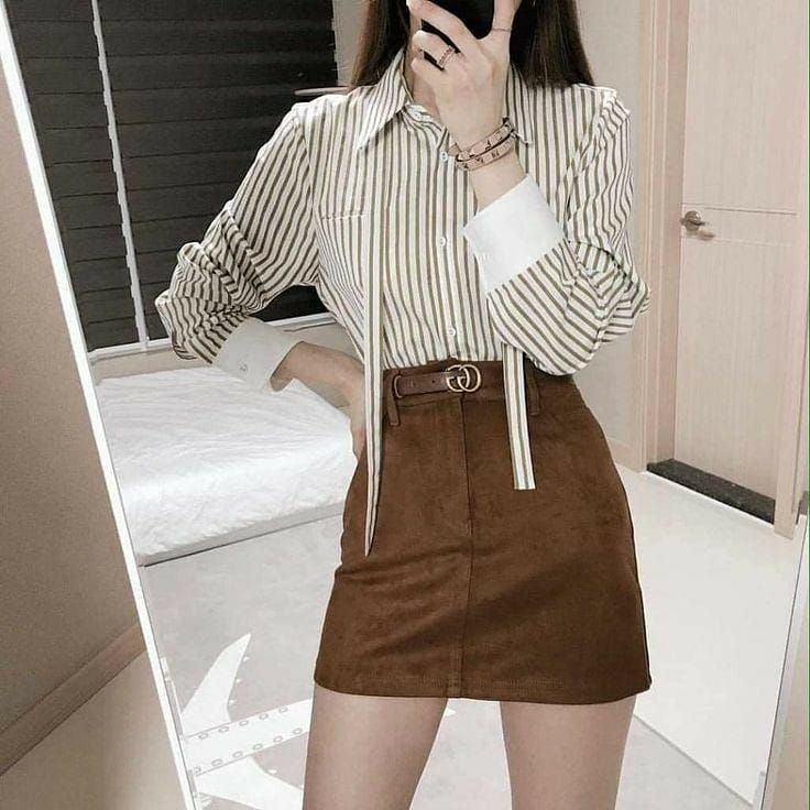 Women Classy Outfit Idea Stylish Christmas 2021 Gentle Japanse Fashion Instagram Highschool Korean Girl Fashion Korean Fashion Korean Fashion Trends