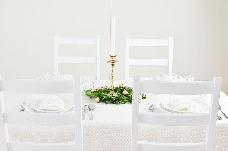 Wigilia - nakrycie stołu