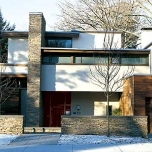 Modern Architecture Flat Roof