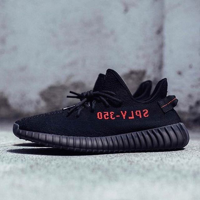 The adidas Yeezy Boost 350 v2 is releasing in February 11th in Black/Red. For more details on the first #Yeezy release of 2017, tap the link in our bio. #adidas #FF #followback #sneakernews