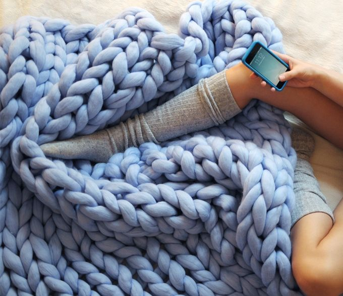 Super soft Merino wool blankets
