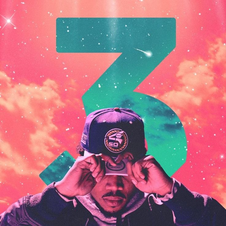 Chance the Rapper - Chance 3 [1000x1000] : freshalbumart