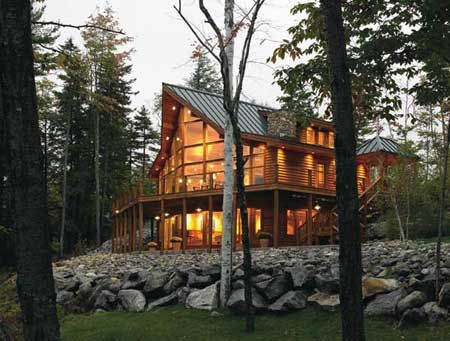 Lindal Cedar Homes - love post and beam construction