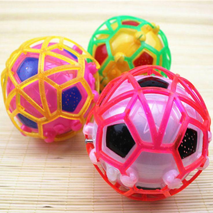 LED Light Jumping Ball Kids Crazy Music Football/ bouncing ball / dance ball / football  Children's Funny Toy Christmas gift