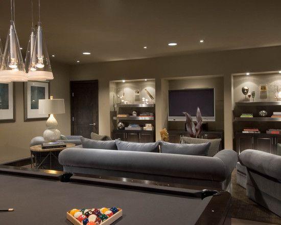 garage hangout ideas - Living Areas Bonus room idea