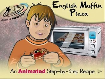 Many teachers infuse a literacy component into their cooking activities by presenting the printed steps on a large flip chart.  Bloom creatively expands upon this frequent practice by using PowerPoint software to not only present the printed steps but to make those steps come alive by using the animation and sound capabilities of PowerPoint software.