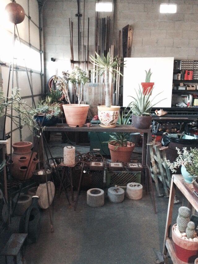Industrial Luxury Showroom and Urban Garden Design