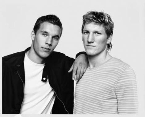 Schweinsteiger & Podolski.