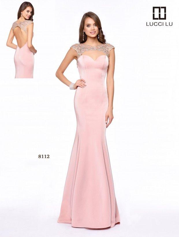 LUCCI LU 8112 Size 8 #Blush #BlushPink #Pink #LightPink  #LucciLu #Prom #Prom17 #Prom2017 #PromDress
