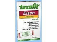 Taxofit Eisen   Vitamin C Kapseln (Multivitamine