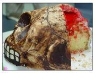 Pastel repugnante de Halloween by www.vinosyrecetas.com