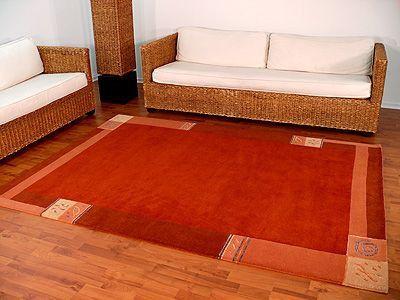 Indo Nepal Teppich Urbana Rot Teppiche Nepal und Gabbeh Teppiche Indo Nepal Teppiche Urbana