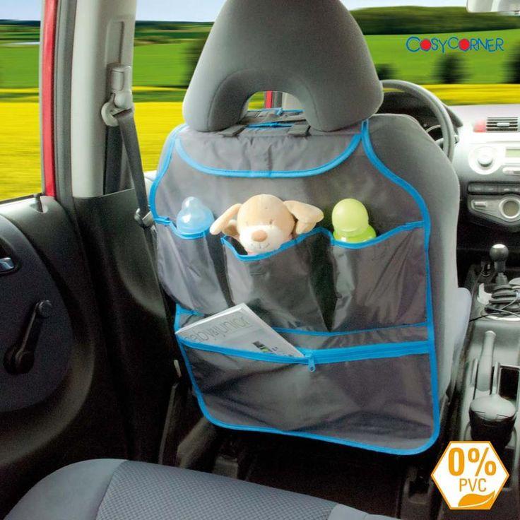 ροστατευτικό και οργανωτής για την πλάτη του καθίσματος με 5 αποθηκευτικές θήκες! Νέα παραλαβή - τιμή 10,90€! http://goo.gl/Cxiv7z