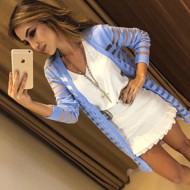In Love ❤️❤️ Casaquinho Angelica Azul | Blusa Lilian | Saia Dulci Compras on line: www.estacaodamodastore.com.br Whats app: (45)99953-3696 - Thalyta #VAREJO ☎️SAC: (45)3541-2940 ou 3541-2195 E-mail: vendas@estacaodamodastore.com.br Facebook: Estação Store