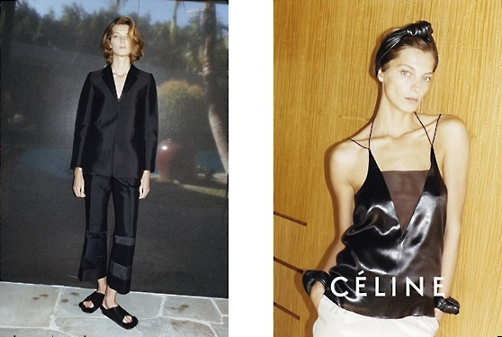 Céline campagne printemps été 2013