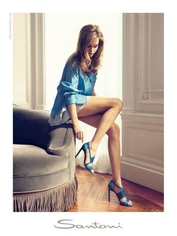 Santoni Shoes Spring/Summer 2014 Campaign