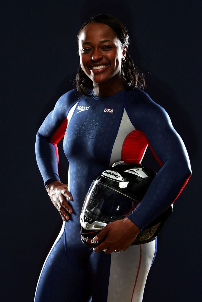 Vonetta Flowers, First African-American Winter Olympic gold medal winner