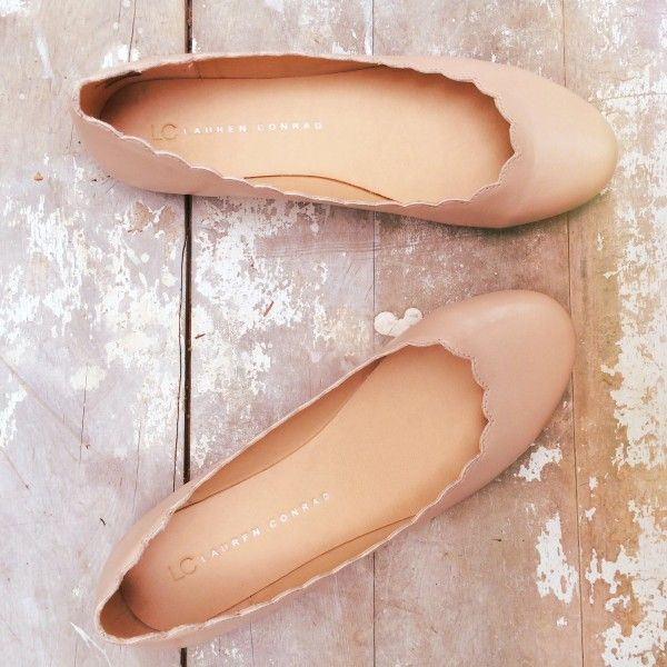 scalloped ballet flats from the lc lauren conrad collection
