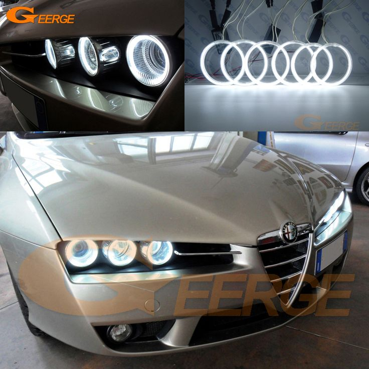Find More Car Light Assembly Information about For Alfa Romeo Brera Spider 2005 2011 Excellent Angel Eyes Ultra bright headlight illumination ccfl angel eyes kit Halo Ring,High Quality eyes angel,China angel eyes ccfl Suppliers, Cheap headlight ring from Geerge-Tech on Aliexpress.com