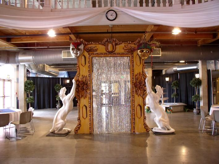 Masquerade Table Decorations ... | Greek party decorations, Ruins and Masquerade ball decorations