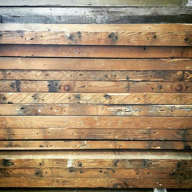 The beauty of reclaimed wood. #reclaimed #interiordesign #rusticdesign #woodworking