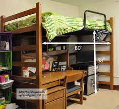 Dorm Loft Bed Dimensions - WoodWorking Projects & Plans