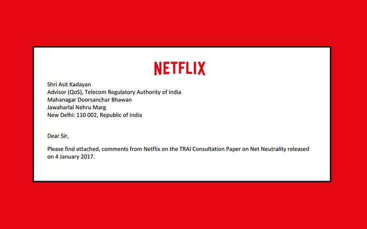 [ALL] Netflix weighs in on net neutrality in India after softening role in US